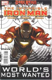 Invincible Iron Man #8 (2008) Dark Reign Marvel comic book